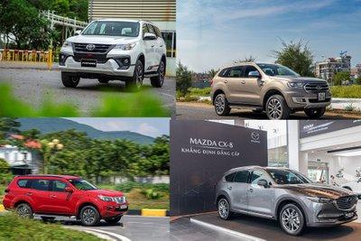 Phân khúc SUV 7 chỗ: Đua nhau khuyến mại, giảm giá dịp cuối năm a1