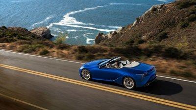 9 sự thật về Lexus LC 500 Convertible mà ai cũng cần phải biết.