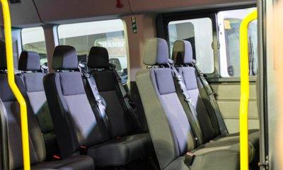 Ford Transit 2020 sức chứa lớn