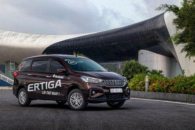Giá xe Suzuki Ertiga 2020 cập nhật mới nhất