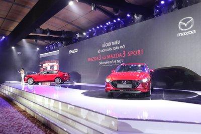 Bộ đôi Mazda 3 và Mazda 3 Sport thế hệ mới chính thức ra mắt tại Việt Nam.