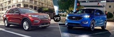 So sánh xe Ford Explorer 2020 và Ford Edge 2020 về giá thành
