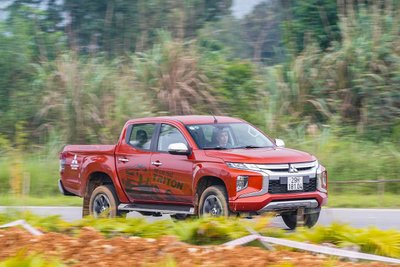 Mitsubishi Triton áp dụng khuyến mãi quà tặng hấp dẫn khi mua xe trong tháng 1 1