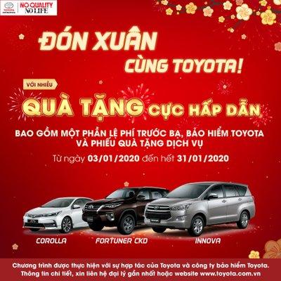 Khuyến mãi Toyota tháng 1/2020: Altis, Innova, Fortuner nhận quà tặng hấp dẫn 1a