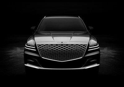 SUV hạng sang Genesis GV80 2021 sẽ ra mắt toàn cầu vào ngày 16/1 tới.