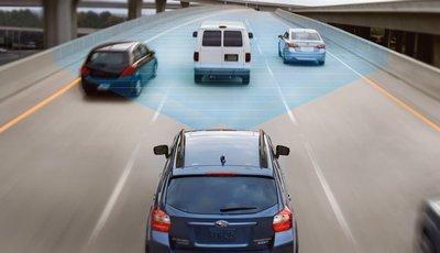 Phanh AEB giúp giảm đáng kể số lượng tai nạn đâm đuôi xe.