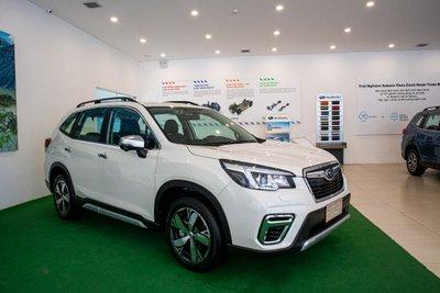 Subaru Forester 2020 tại Việt Nam có gì để đấu Honda CR-V? a1