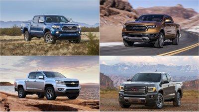 Top 5 mẫu bán tải tốt nhất đầu năm 2020