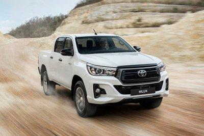 Top 5 mẫu bán tải tốt nhất đầu năm 2020 - Toyota Hilux