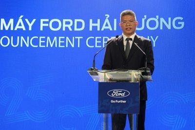 Ông Phạm Văn Dũng - Tổng Giám đốc công ty Ford Việt Nam.