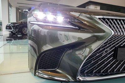 Hình ảnh đèn pha LED xe Lexus LS500h 2020