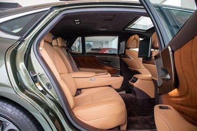 Hình ảnh ghế sau xe Lexus LS500h 2020