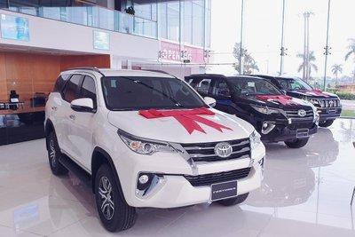 Toyota Fortuner dẫn đầu phân khúc SUV 7 chỗ tại Việt Nam trong tháng 12 1