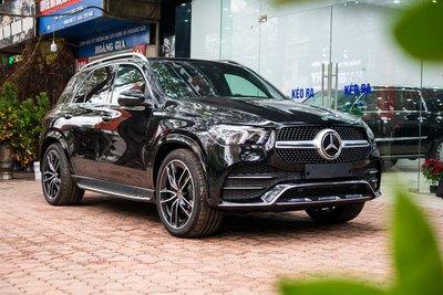 Ảnh chụp trước xe Mercedes-Benz GLE300 Diesel 2020