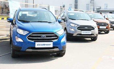 Ford Ecosport giảm giá từ 25 đến 65 triệu đồng.