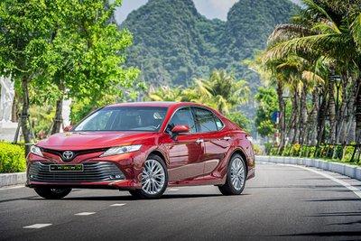 Toyota Camry vẫn dẫn đầu phân khúc hạng D tại thị trường Việt Nam 1