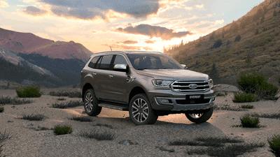 Ngoại thất xe Ford Everest 2020