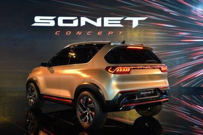 [Auto Expo 2020] Kia Sonet 2020 Concept quyến rũ mọi góc nhìn