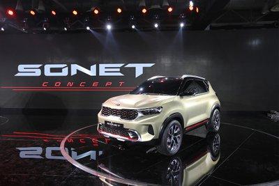 [Auto Expo 2020] Kia Sonet 2020 ra mắt, thách thức Hyundai Venue
