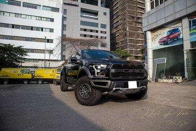 Ảnh chụp trước xe Ford F-150 Raptor Black Edition 2020