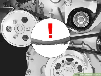 thay dây cu-roa ô tô.