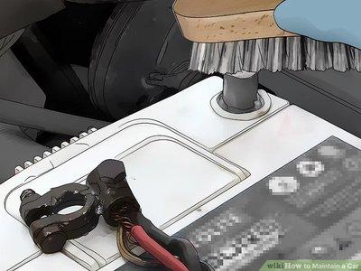 Làm sạch hệ thống pin của bạn hằng năm.