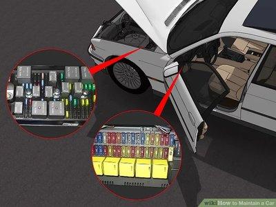 thay thế cầu chì xe ô tô.