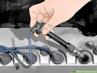 thay thế bu-gi xe ô tô.
