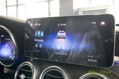 Hình ảnh màn hình xe Mercedes-Benz GLC 300 4Matic 2020