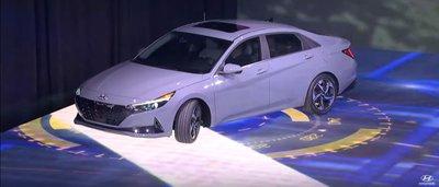 Hyundai Elantra 2021 Hybrid siêu tiết kiệm nhiên liệu.