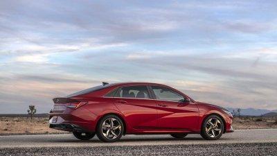 Hyundai Elantra 2021 đảm bảo an toàn tuyệt đối.
