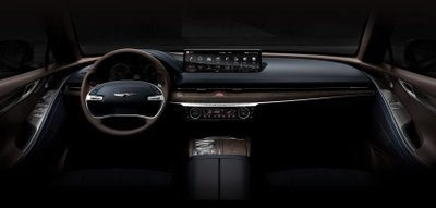 Genesis G80 2021 lộ nội thất trước giờ G.