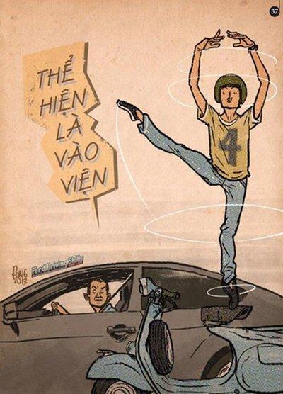 Những khẩu hiệu an toàn giao thông hay- hài -và ý nghĩa nhất a7