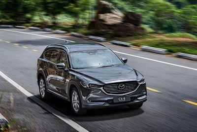 Giá tính trước bạ mới của Mazda CX-8 giảm cả trăm triệu đồng...