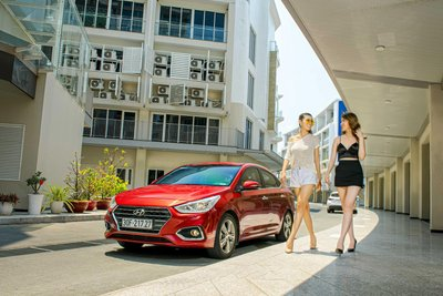 Doanh số Hyundai Accent thế hệ mới cán mốc 36.696 xe sau 2 năm ra mắt. a1