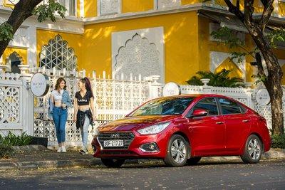 Hyundai Accent thế hệ mới cán mốc 36.696 bán ra sau 2 năm ra mắt a2