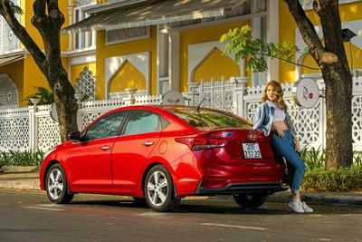 Hyundai Accent thế hệ mới cán mốc 36.696 bán ra sau 2 năm ra mắt a3