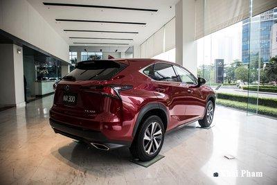 Cận cảnh xe Lexus NX 300 2020 đầu tiên về đại lý chính hãng tại Hà Nội a2