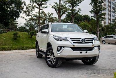Toyota Fortuner đứng đầu phân khúc SUV 7 chỗ tại Việt Nam 1