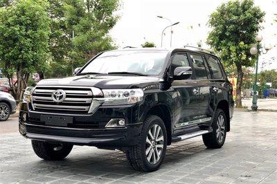 Toyota Land Cruiser tại Việt Nam 1