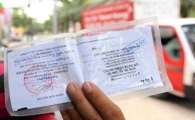 Trong một số trường hợp, tài xế không nhất thiết phải mang theo giấy tờ xe bản gốc.