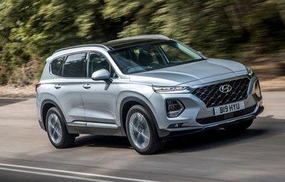 Hyundai buộc phải triệu hồi mẫu xe SUV SanteFe do lỗi tương tự.