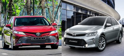 Phân biệt xe Toyota Camry nhập khẩu và lắp ráp trong nước.