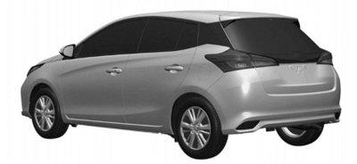 Toyota Yaris 2021 facelift với thân hình quen thuộc.
