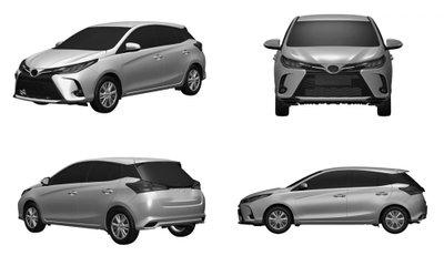 Toyota Yaris 2021 facelift hẹn gặp người dùng trong thời gian tới.