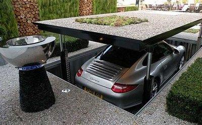 Tìm nơi râm mát hoặc hầm để đỗ xe 1