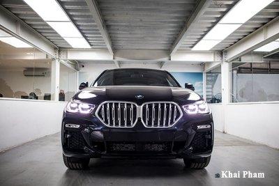 Ảnh chính diện đầu xe BMW X6 2020