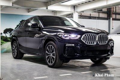 Ảnh trước trái xe BMW X6 2020
