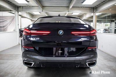Ảnh đuôi xe BMW X6 2020