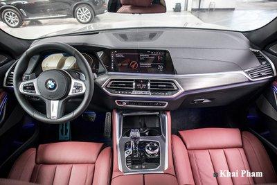 Ảnh táp-lô xe BMW X6 2020